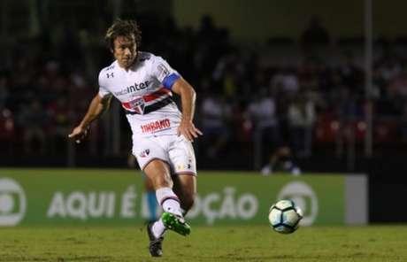 Lugan ficará no São Paulo, pelo menos, até o fim da temporada (foto: Rubens Chiri/saopaulofc.net)