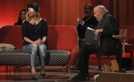 Notaro apareceu na TV italiana Canale 5 em abril