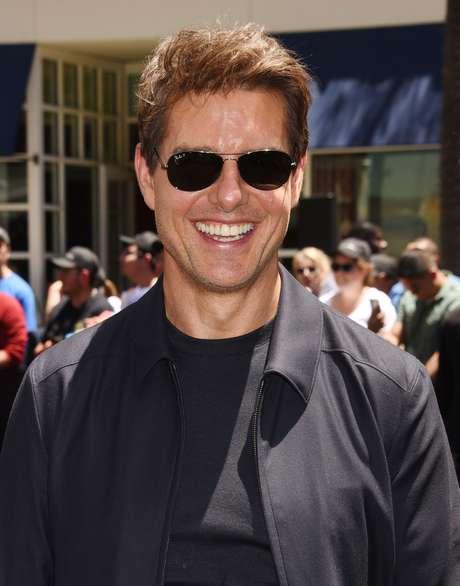 O sorriso de Tom Cruise
