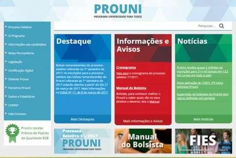 Resultado da lista de espera do ProUni será divulgado nesta segunda
