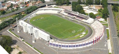 O Estádio Durval Britto, conhecido como Vila Capanema, é a 'casa' do Paraná Clube