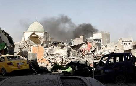 Estado Islâmico reduzido a