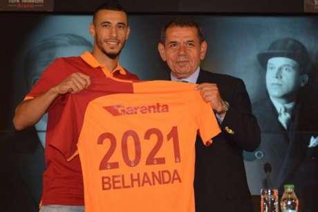 Belhanda disputou 36 partidas na última temporada (Foto: Divulgação)