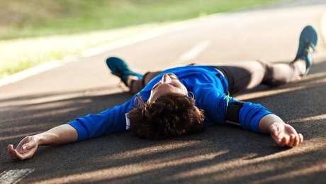cansaço após exercício físico