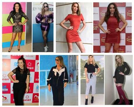 Looks das famosas na semana (Fotos: AgNews/Reprodução/Instagram)