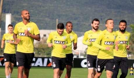 Figueirense treinou em período integral na última sexta-feira (Foto: Figueirense Futebol Clube)