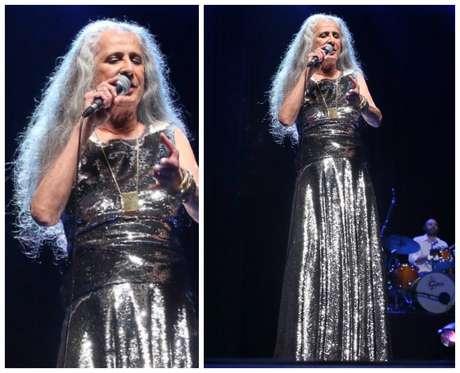 Maria Bethânia em show em São Paulo (Fotos: Thiago Duran/AgNews)
