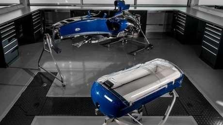 O carrinho Babypod da Williams deve muito à tecnologia dos carros da F1