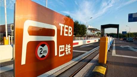 Área de testes do TEB