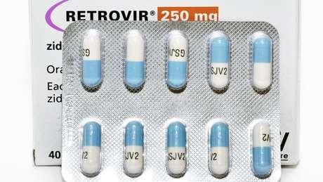 remédios para HIV