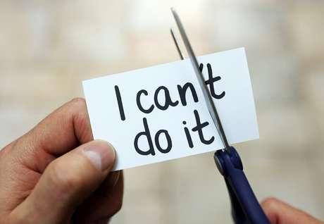 Corte o não de sua vida e pense que você pode fazer.