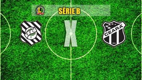 Figueirense x Ceará acontece às 16h30 deste sábado, no Orlando Scarpelli. A partida é válida pela 12ª rodada da Série B