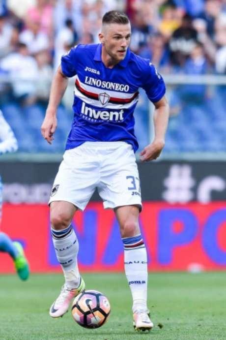 Skriniar fez 35 partidas pela Sampdoria na última temporada (Foto: Reprodução / Twitter)