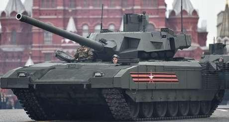 O Armata é um tanque automatizado que substitui a maior parte dos tanques da era soviética