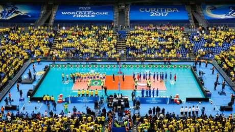 Arena da Baixada teve casa cheia na decisão entre Brasil e França (Foto: Divulgação)