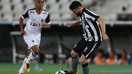 O conflito ocorreu no Setor Sul do Nilton Santos (Vitor Silva/SSPress/Botafogo)
