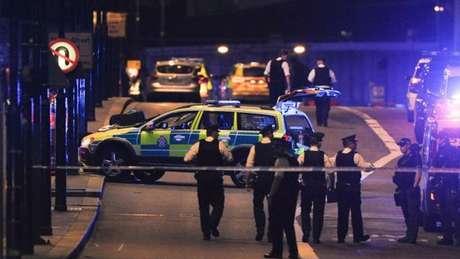 Polícia após ataque em Londres