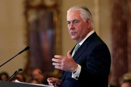 Secretário de Estado dos Estados Unidos, Rex Tillerson 27/06/2017 REUTERS/Yuri Gripas