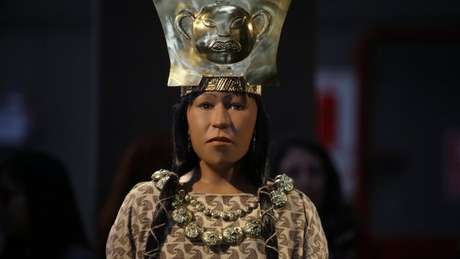 Acredita-se que a Senhora do Cao tenha sido uma líder religiosa ou política da civilização moche