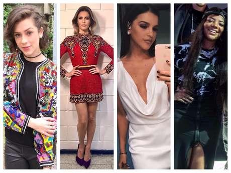 Looks das famosas em 'PopStar' (Fotos: Instagram/Reprodução - Raquel Cunha/TV Globo/Divulgação)