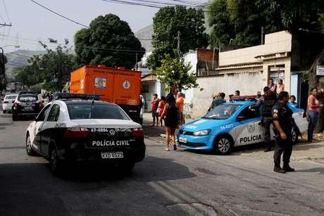 Local da morte do adolescente Guilherme Alves Ancelmo, na zona norte do Rio de Janeiro