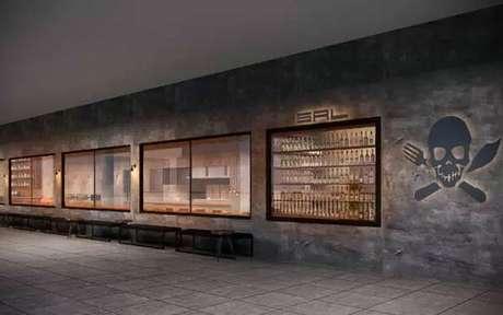 Projeto do novo Sal Gastronomia, localizado no terceiro piso do Shopping cidade Jardim (Foto: Divulgação/Henrique Fogaça)