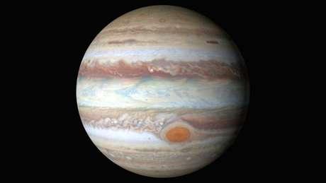 Cientistas calculam que mancha tenha 16 mil quilômetros de diâmetro - o da Terra tem 12,7 mil km