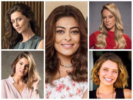 Cabelos mais pedidos da Globo (Fotos: TV Globo/Divulgação)