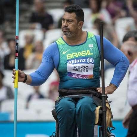 Jonas Licurgo foi ouro no Parapan de Toronto-2015 (Foto: Marcio Rodrigues/MPIX/CPB)