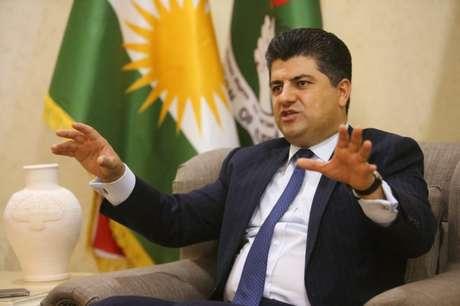 Importante autoridade curda de combate ao terrorismo Lahur Talabany durante entrevista com a Reuters em Sulaimania, no Iraque 17/07/2017 REUTERS/Ari Jalal