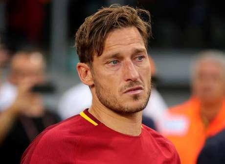 Totti, depois do jogo pela Roma  28/5/17  REUTERS/Stefano Rellandini
