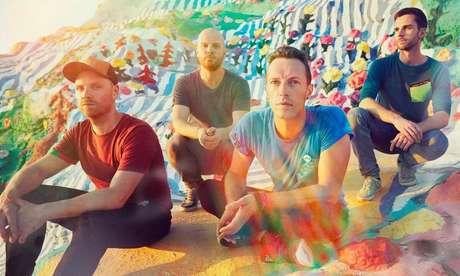 A banda Coldplay acaba de lançar o EP Kaleidoscope