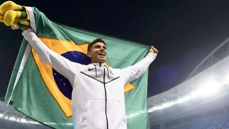 Thiago Braz disputou, este ano, duas competições em solo brasileiro Wagner Carmo/CBAt