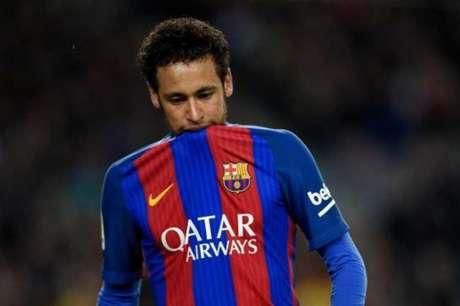 Neymar tem vínculo com o Barça até junho de 2021 (Foto: Lluis Gene/AFP)