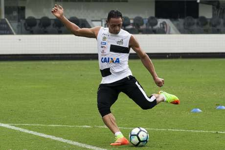 Ricardo Oliveira está na mira do Internacional (Ivan Storti / Santos FC)