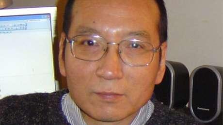 Foto de família do ativista Liu Xiaobo