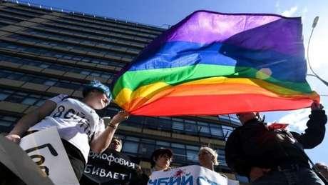 Muitos eventos que apoiam a comunidade gay na Rússia terminaram em confronto com a polícia.