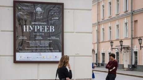 O balé Bolshoi afirmou que 'Nureyev' será lançado em maio de 2018