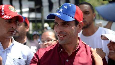 Líder da oposição Henrique Capriles exigiu ao governo que cancele a Assembleia Constituinte