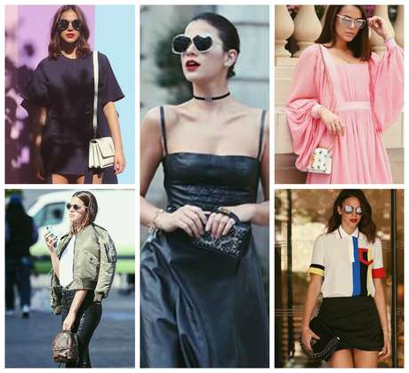 Bruna Marquezine e suas bolsas (Fotos: Reprodução/Instagram/@brumarquezine)