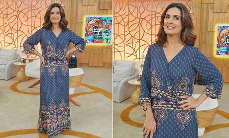Fátima Bernardes (Fotos: TV Globo/Divulgação)