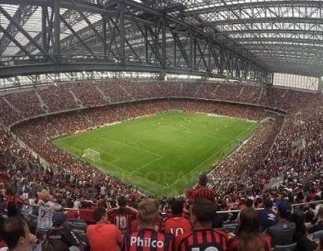 Na Arena da Baixada, o acesso biométrico será implantado a partir de agosto (Foto: Fabio Wosniak/Atlético-PR)