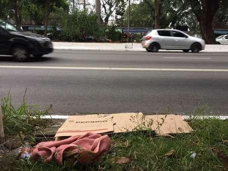 Tarde mais fria do ano em São Paulo mata morador de rua
