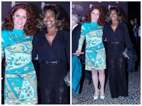 Gloria Maria e Leilane Neubarth (Fotos: AgNews)