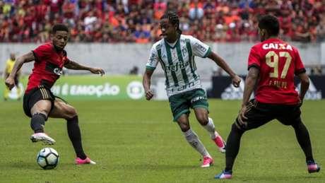 Keno marcou o segundo gol do Palmeiras na Arena Pernambuco - Clélio Tomaz/AGIF