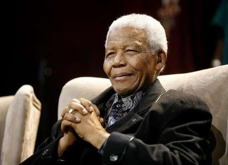 O ícone anti-apartheid e ex-presidente da África do Sul, Nelson Mandela, morto em 2013