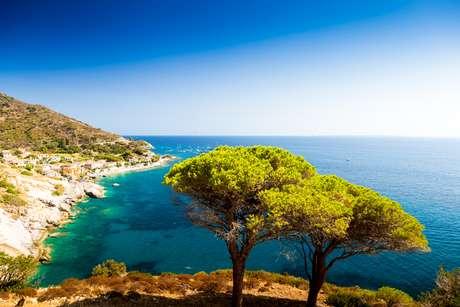 Ilha de Elba fica na região da Toscana, na Itália