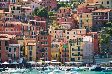 Lerici, no litoral da Toscana
