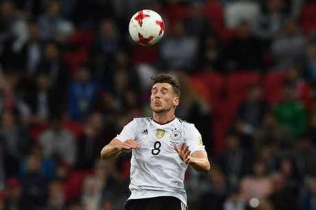 Goretzka defendeu a Alemanha nas Olimpíadas do Rio 2016 (Foto: Franck Fife / AFP)
