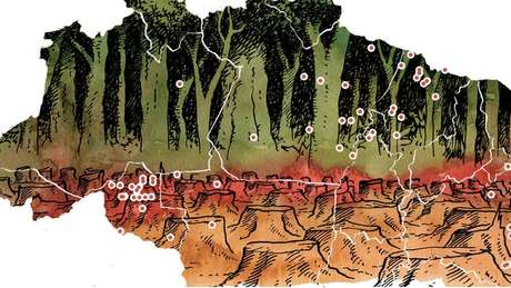 Maioria das mortes no campo ocorre nas bordas da Amazônia